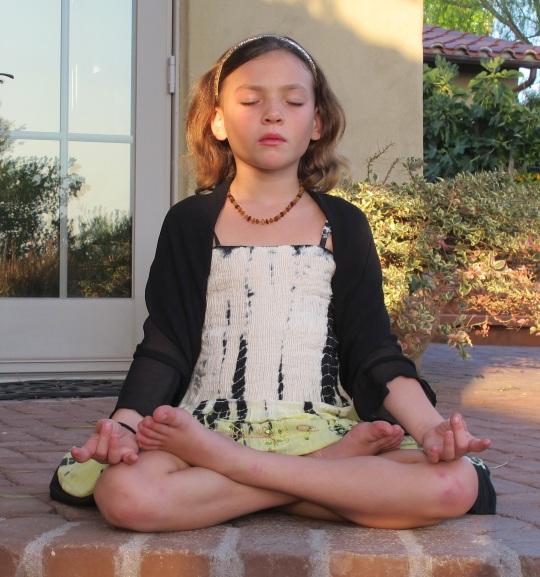 Jaya Meditating
